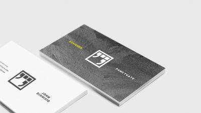 Design custom personal business name cards. Elegant, clean, minimalist, modern style
