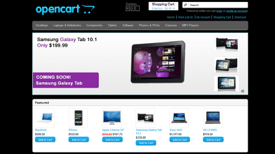 Install Opencart or Joomla  with professional theme for your shop/website