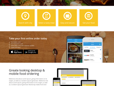 Make  Online Food Order Website