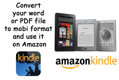 Convert file to kindle format