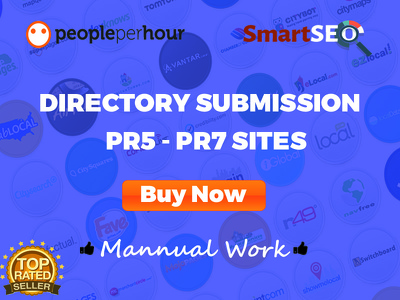 Will make manual directory submission to 20 PR3 PR7 sites