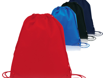 Design, print and deliver drawstring gymsacks - from 1 quantity