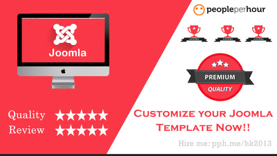 Customize Joomla Template or Professional Joomla ecommerce template customization