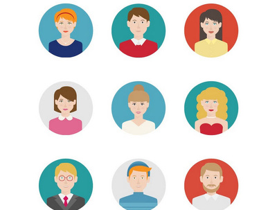 Design a vector Icon/avatar for your business