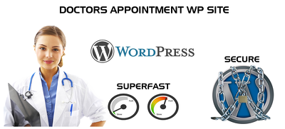 Develop a online Appointment website in WordPress - fast loading and responsive