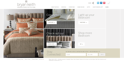 Design an eCommerce template in WordPress