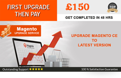 Upgrade/migrate magento CE 1.x/2 to latest version