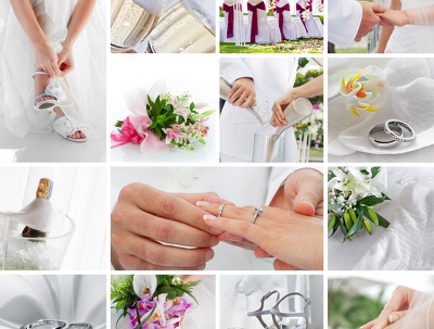 Write 30 x wedding themed social media posts