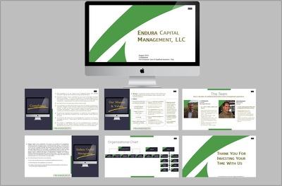 Create a unique 12 slide Corporate and Elegant Slide Deck