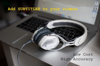 Create pro English or Brazilian Portuguese subtitles for your videos, up to 02:45