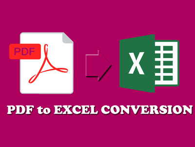 convert any pdf to excel with proofreading upto 10 pages