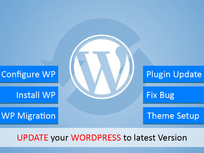 Wordpress Theme installation and setup.
