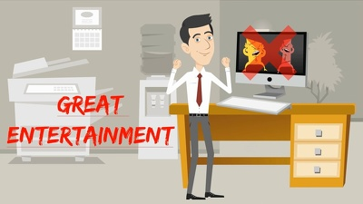 2D Cartoon Animation VIDEO Explainer