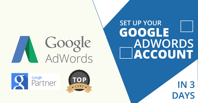 Set up your Google Adwords account