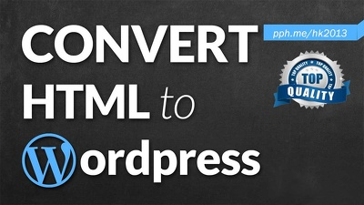 Convert HTML to Wordpress Responsive site using Bootstrap support