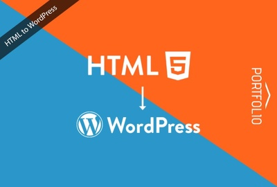 Convert HTML to WordPress Theme