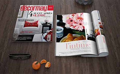 Design professional  magazine or brochure or covers