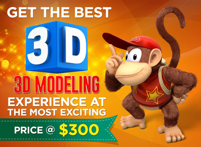 Get the best 3D Modeling designs at the most cost effective prices !!