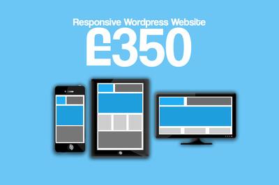 Web design & Development of a fully responsive Wordpress Website