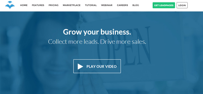 Set you up a Leadpages sales/sign up/ page and link it with your email marketing app