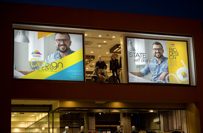 put your logo, banner or any graphics on your SHOP AND MALL.