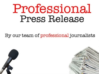 Write A Professional Press Release And Distribute It