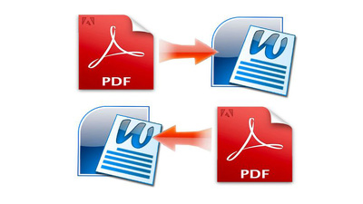 Convert your PDF to Word Document or Word Document to PDF