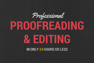 Proofread any document up to 1000 words in 24 hours