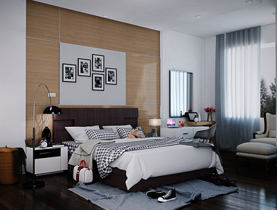 Do professional interior design of your interior spaces/ interior visualization