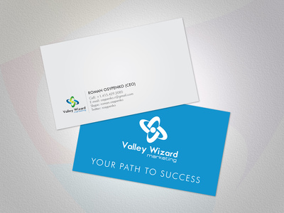Create business card for your company