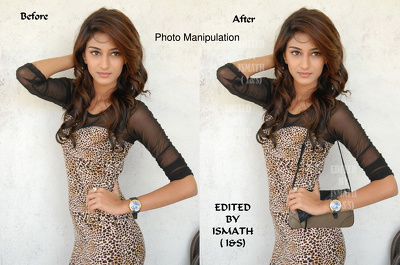Retouch photosh using photoshop