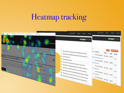 Install heatmap tracking software for user testing on your website