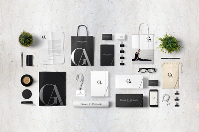 design a bespoke branding pack-unique logo and stationery design