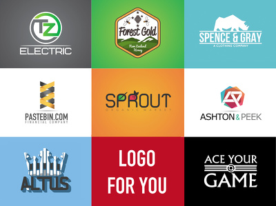 Logo design with unlimited concepts and unlimited revisions