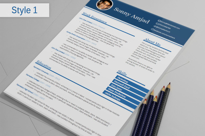 Redesign your current CV/resume into a stunning, eye catching visual CV/resume