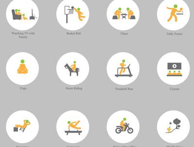 Design 5 bespoke creative icons