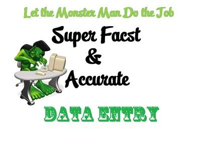 Do 2 hour of Data Entry