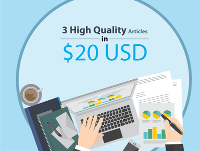 Create 3 SEO-Rich 400-word quality articles on different topics