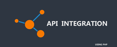 Provide any API integration using PHP