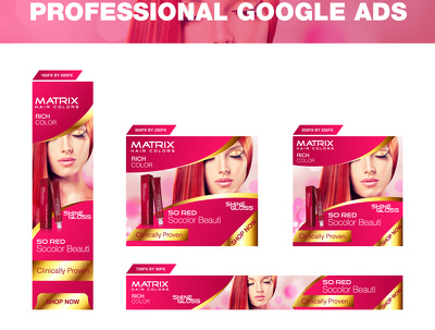 Design modern and professional google adwords Ad set