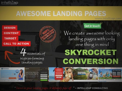 Get an awesome landing page for your business, STARTING JUST....