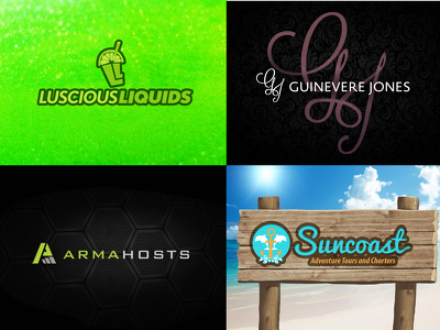 Design a custom logo for your business or service for $10!