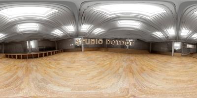 Create interactive 360 vr architectural interior view