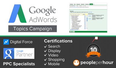 Offer 10 Hour Adwords Management