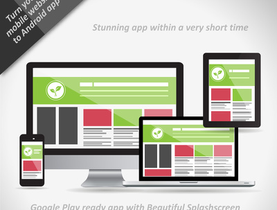 Create Android app for your responsive website