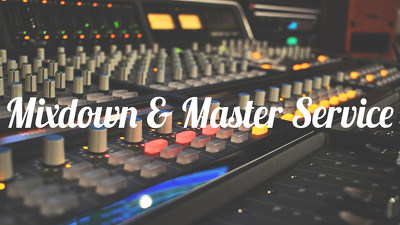 Provide you with radio/club ready mixdown & master of your track
