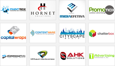 Design 2 professional looking logo concepts for your company with all source files