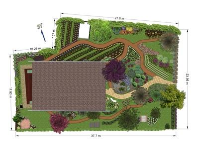 Landscape design your garden