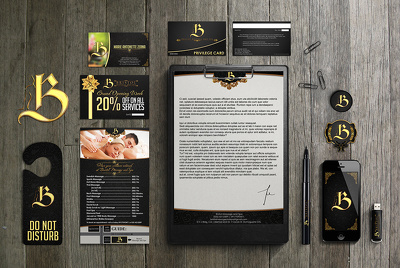 Design Corporate Branding Identity (Logo,Stationary & etc.)