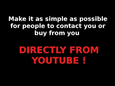 Add click to call, click to ANY url (and more) to Youtube Videos